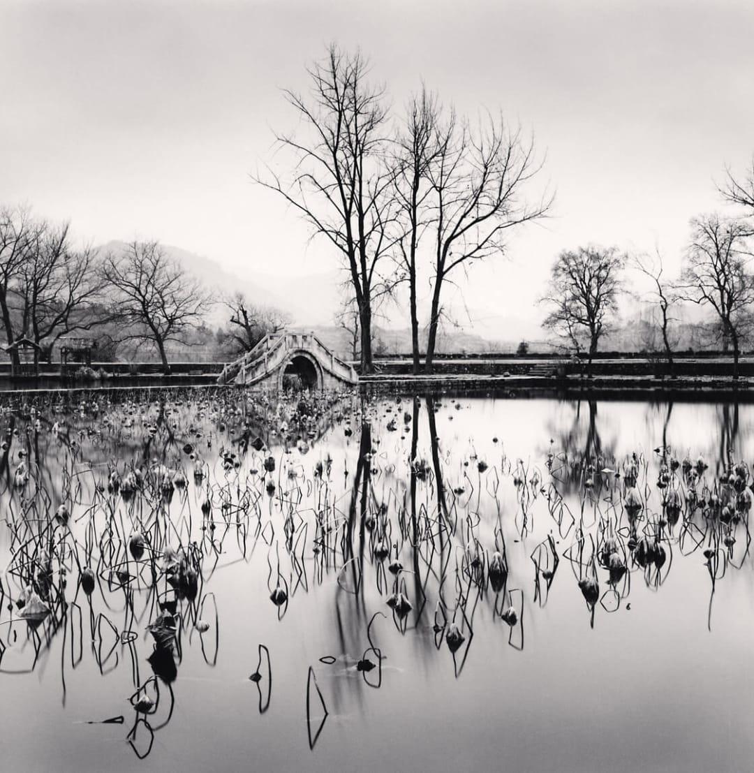 Lake Bridge, Hongkun, Anhui, China - Michael Kenna
