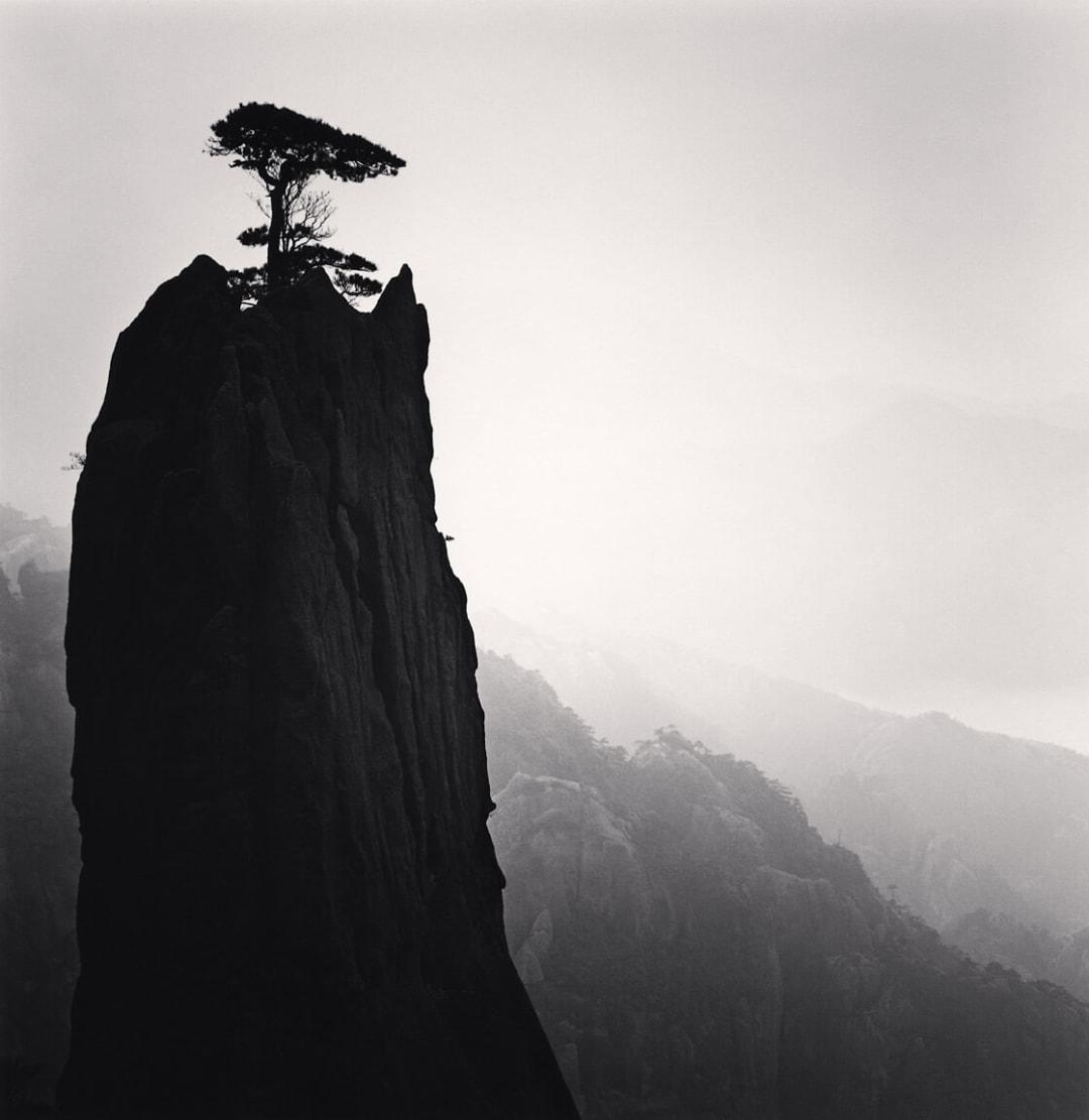 Huangshan Mountains, Study 21, Anhui, China - Michael Kenna