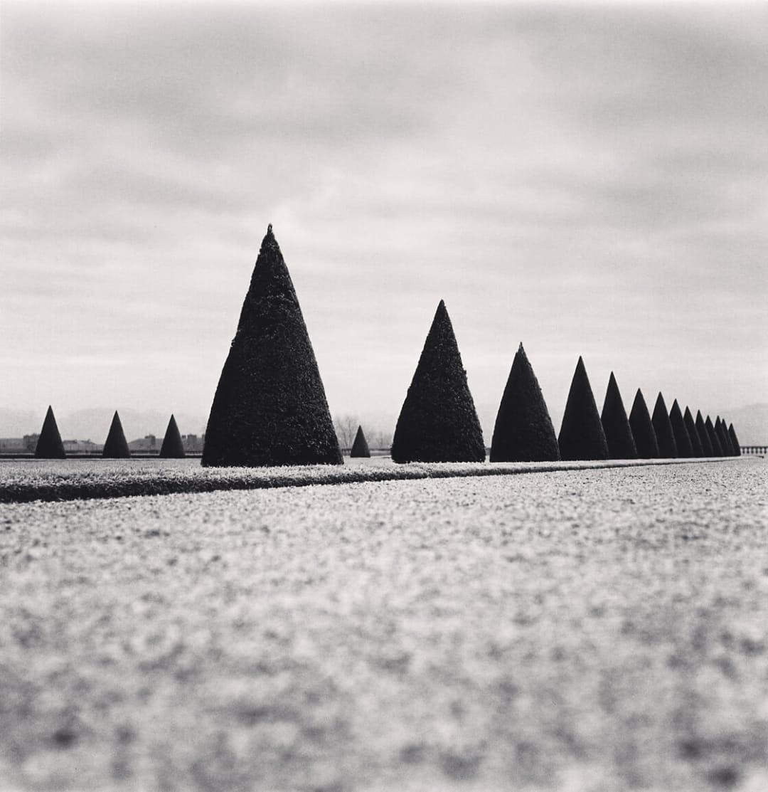 Eighteen Hedges, Versailles, France - Michael Kenna