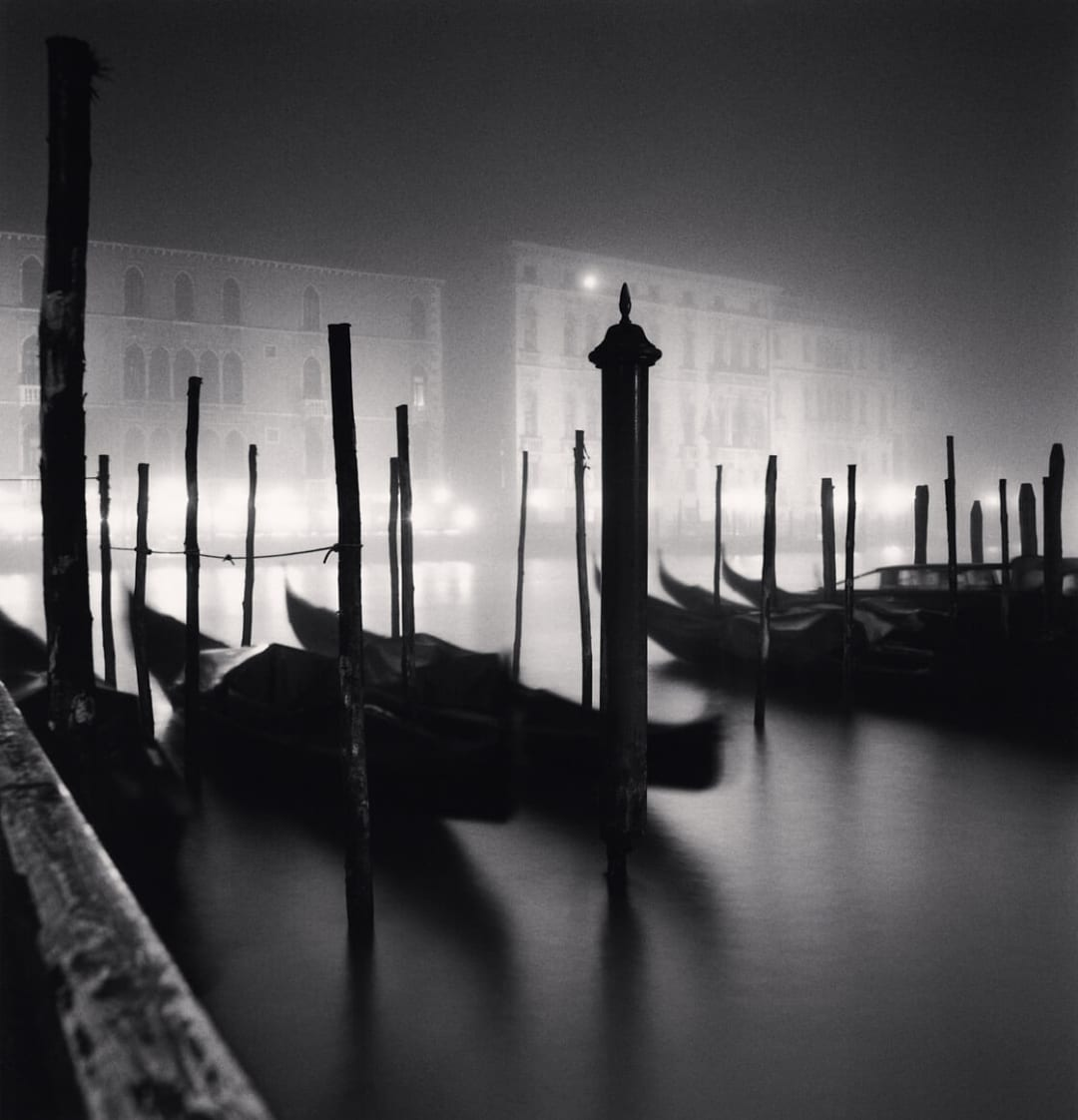 Campo San Vio Viewpoint, Grand Canal, Venice, Italy - Michael Kenna