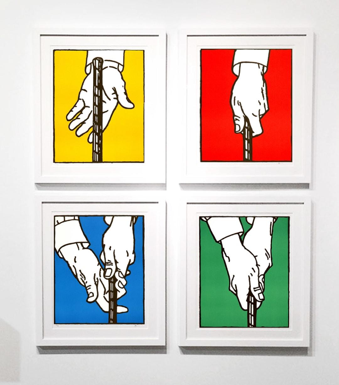 'Overlap Grip - Set of 4, 2000, Edition 44/50' - Bill McCarroll