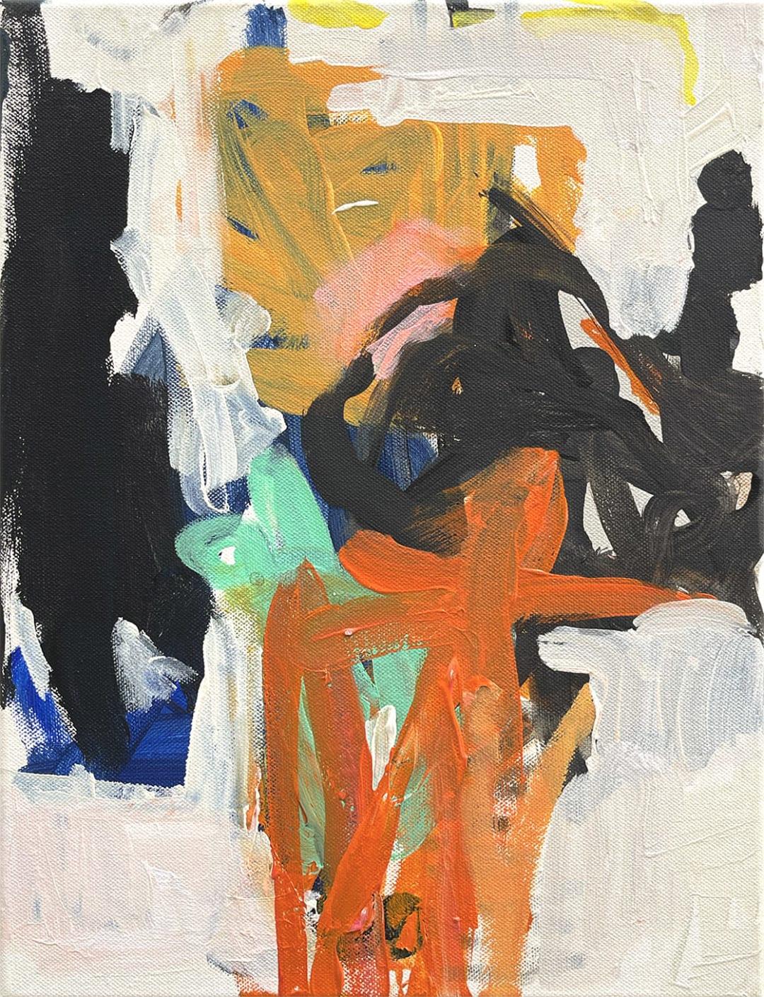 Yvonne Robert- Kleines Geschmiere 2, 15.5 x 11.5 inches, 2021