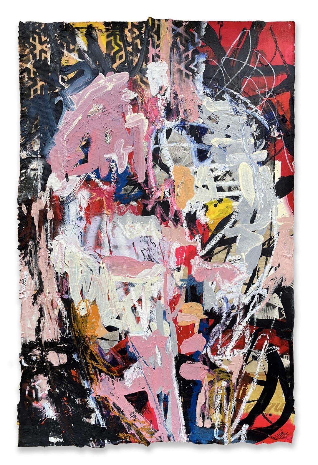 James Verbicky - Brain Scan, Spirit 6, 40 x 26 inches, 2021