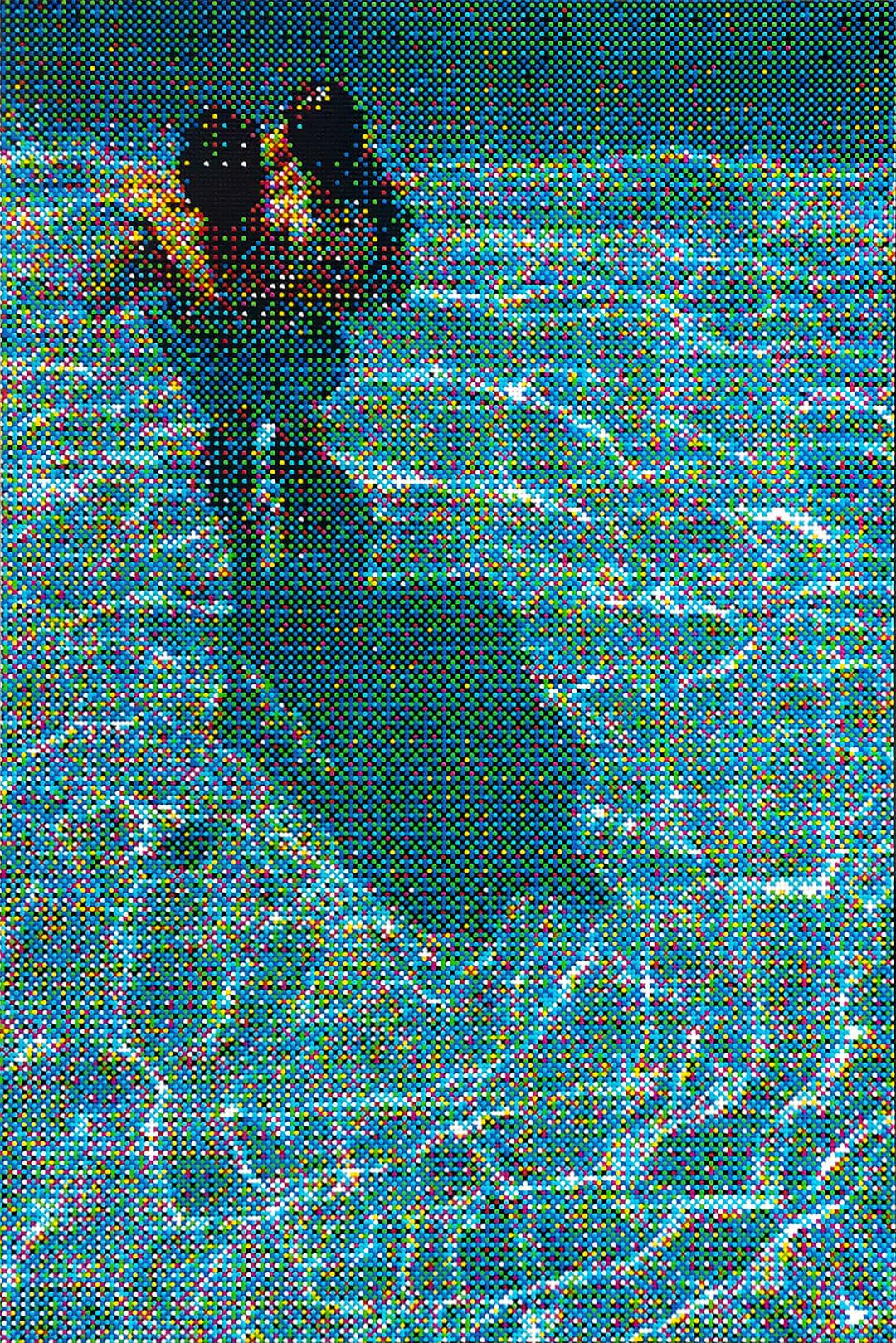 William Betts- Couple, Swimming Pool, Los Angeles, 2019