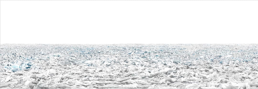 Frozen, Lake Baikal, Russia, 2017