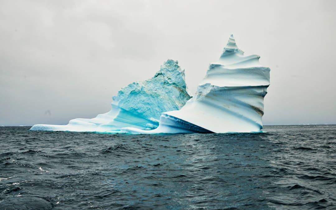 Iceberg 1 (corkscrew), Greenland, 2017
