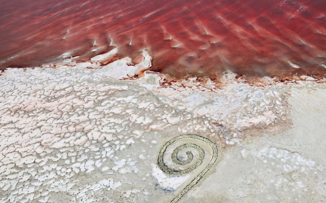 Spiral Jetty 1, Great Salt Lake, Utah, 2017