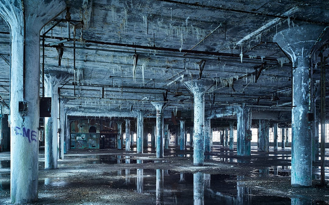 Fisher Body Plant Interior, 2012