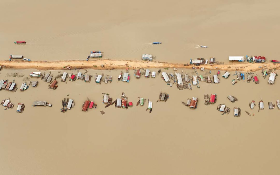 Floating Village, Tonlé Sap Lake, Cambodia, 2012
