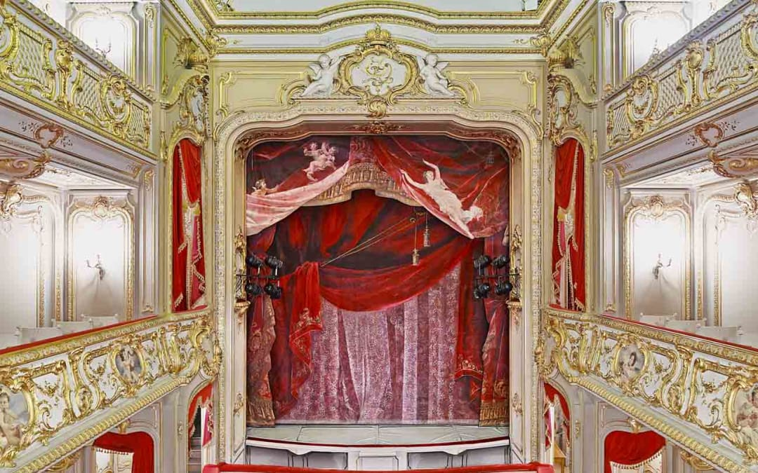 Yusupof Theatre (Curtain), St. Petersburg, Russia, 2015