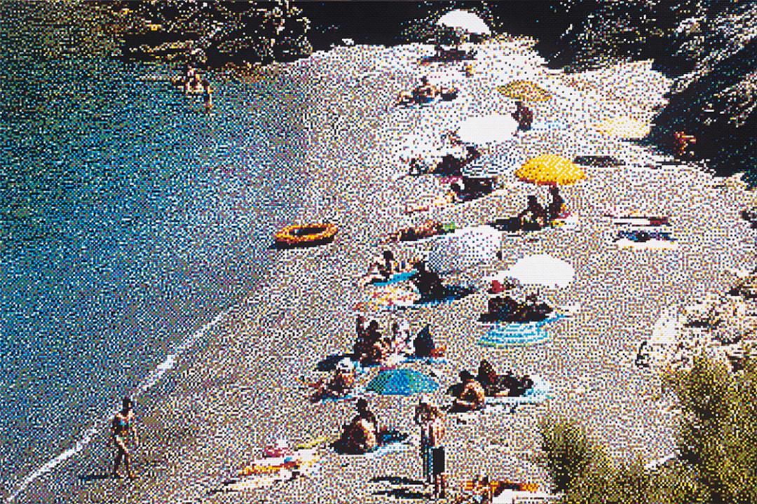 William Betts- Vardia Beach, Folegandros, 2016