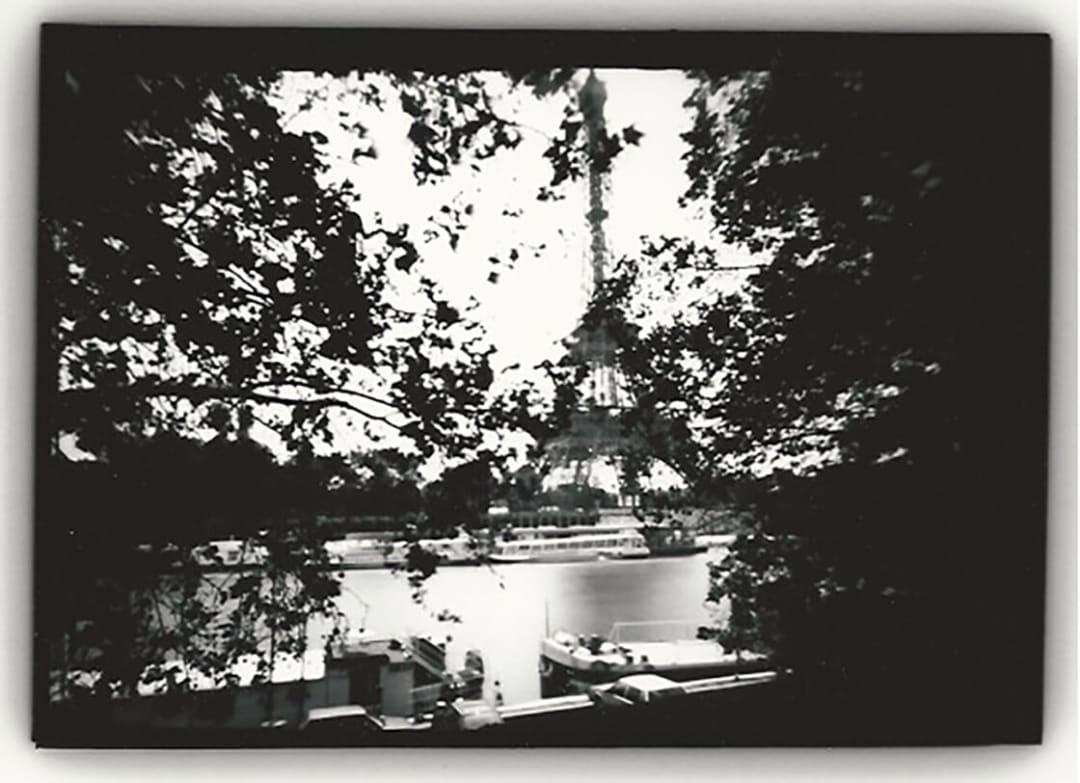 Eiffel Tower (Through Trees), Paris - Dianne Bos
