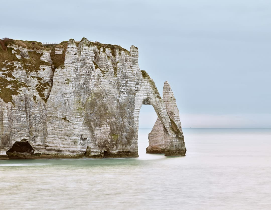 Falaises, d'Etretat, Normandy, France, 2017