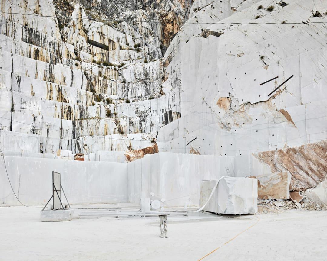 David Burdeny- Diamond Saw, Michelangelo Quarry, Carrara, IT, 2018