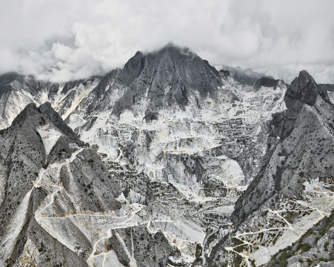 David Burdeny- Cava Bianco I, Carrara, IT, 2018