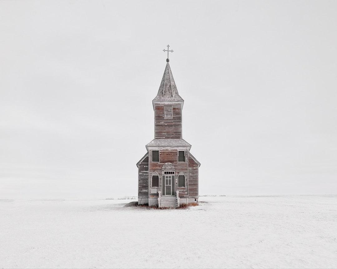 David Burdeny- Church in Snow, Saskatchewan, CA, 2020