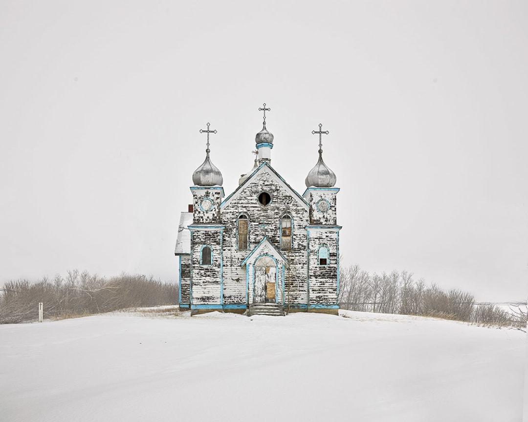David Burdeny- Church on a Hill, Saskatchewan, CA, 2020