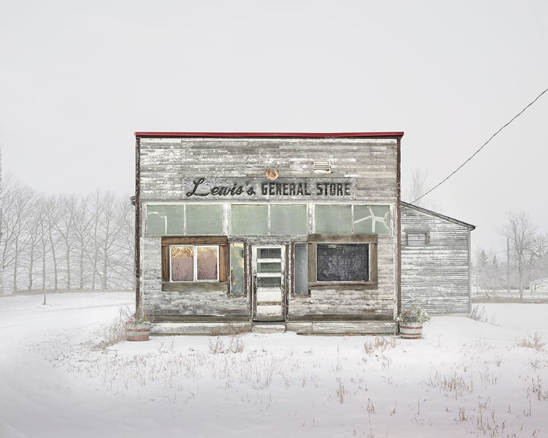 David Burdeny- General Store, Saskatchewan, CA, 2020