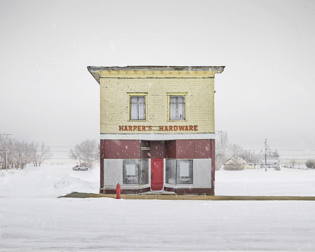 David Burdeny- Harpers Hardware, Saskatchewan, CA, 2020