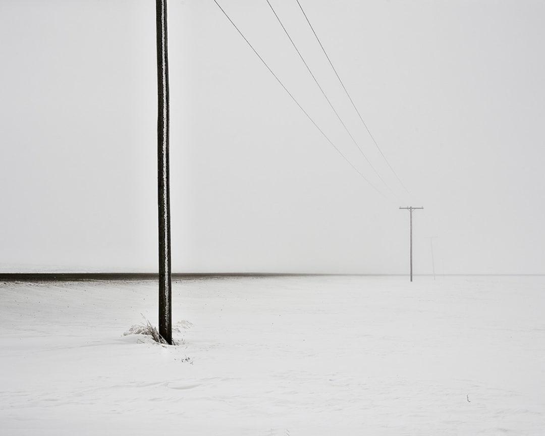 David Burdeny- Prairie Road, Saskatchewan, CA, 2020