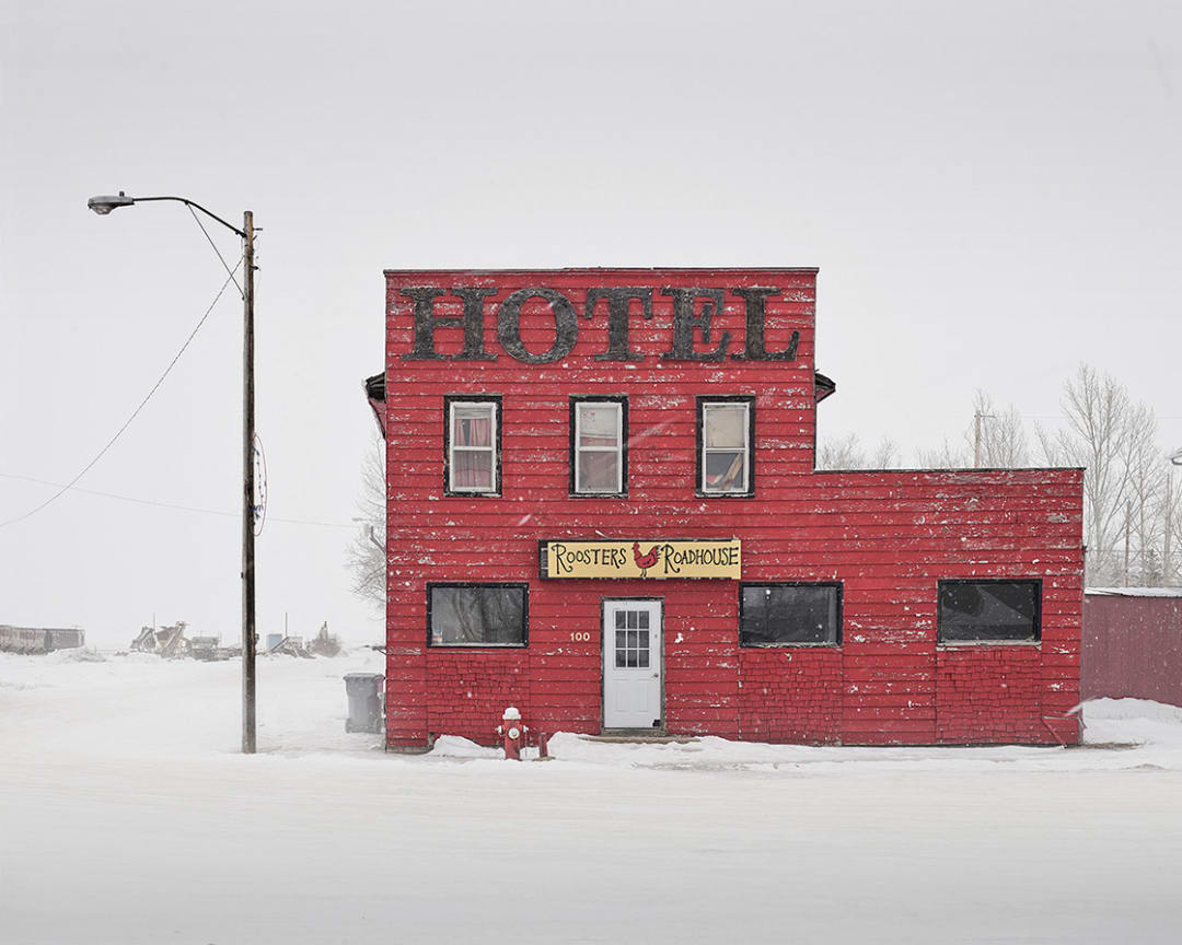 David Burdeny- Red Hotel, Saskatchewan, CA, 2020