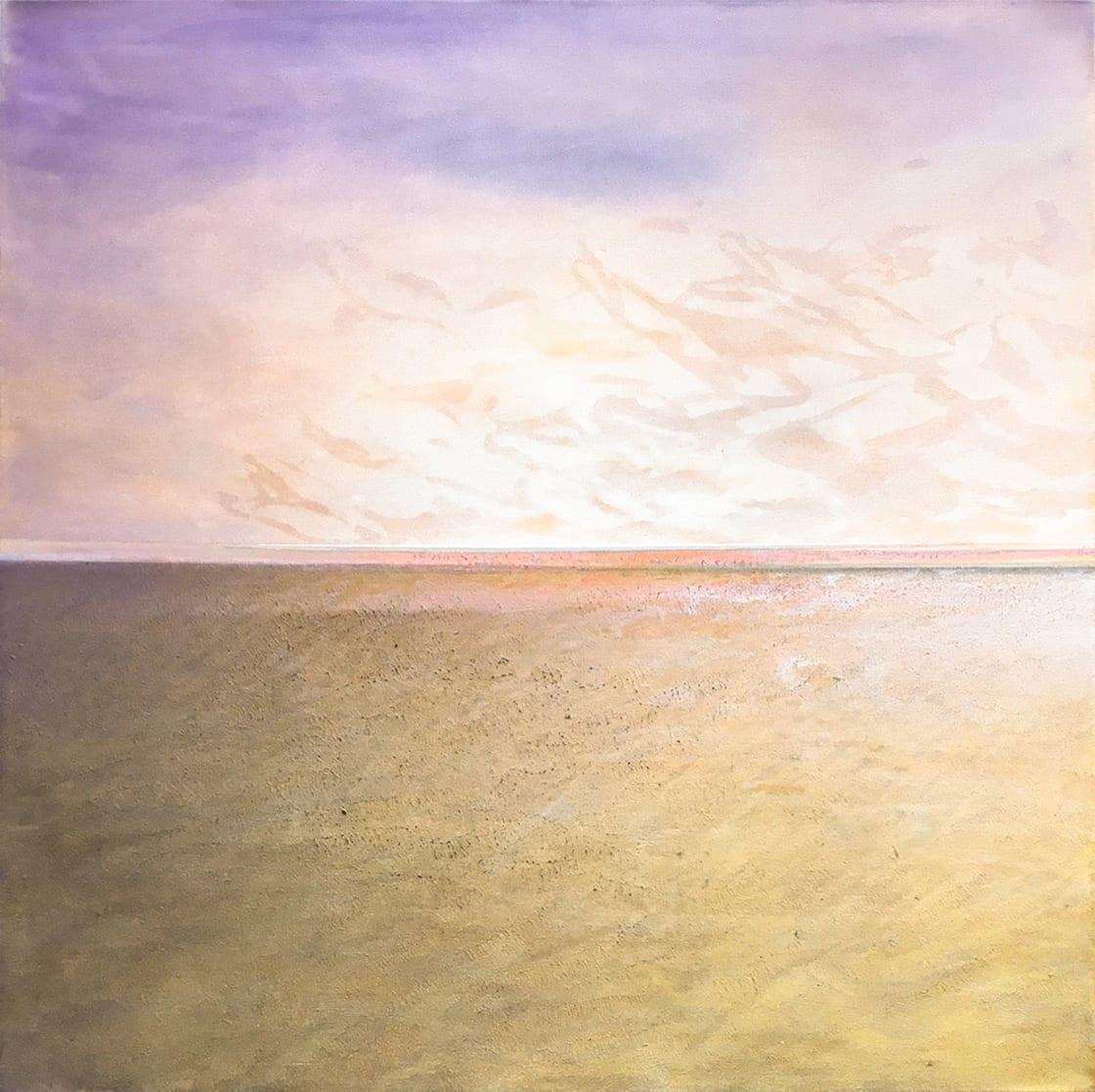 Footsteps at Mt. Enkai, 2020 by Sasha Rogers at Kostuik Gallery
