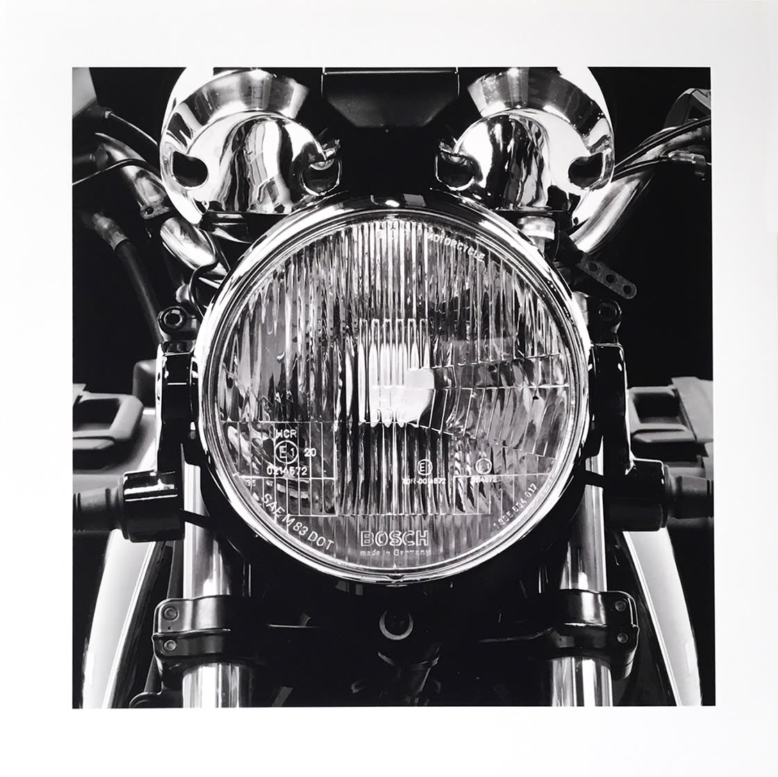 My 1000 CC Airhead 1995 R100R, 2011 by James Lahey at Kostuik Gallery