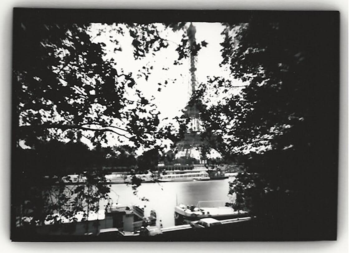 'Eiffel Tower, (through trees), Paris' - Dianne Bos at Kostuik Gallery