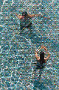 Swimmers XXXII, 2019