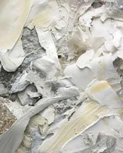 The Painted Photograph: Remnants: Fragments : Silver White 03 VI
