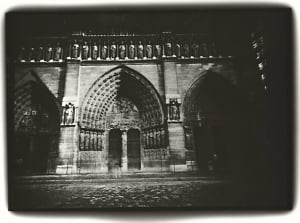 Notre Dame, Facade, Paris, 1998