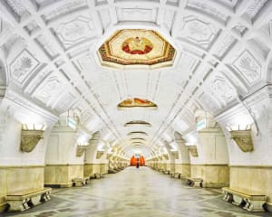 Belorusskaya Station, Moscow, Russia, 2015