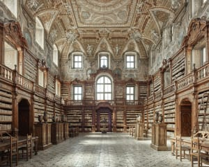 Library, Naples, Italy, 2016