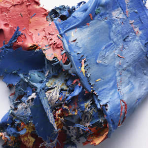 The Painted Photograph: Remnants – #482 V1, edition 1/1