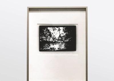 'Eiffel Tower, (through trees), Paris', Installation View - Dianne Bos at Kostuik Gallery