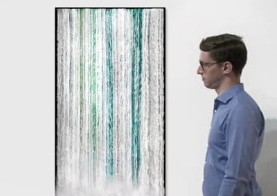 'Niagara 4', 2017, Installation View - Georg Kuettinger at Kostuik Gallery