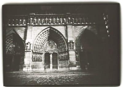 Dianne Bos – Notre Dame, Facade, Paris, 1998