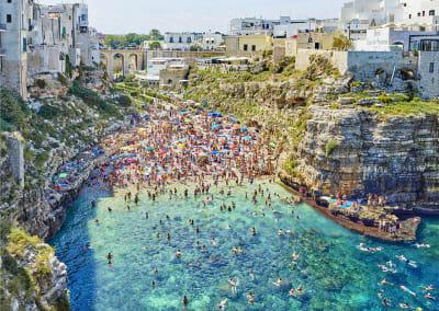 Polignano A Mare (mid-day), Bari, Apulia, Italy, 2016