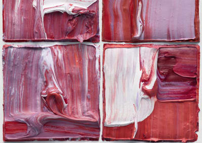Judy D. Shane- Multiform X4 Red Purple 01