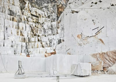 Diamond Saw, Michelangelo Quarry, Carrara, IT, 2018