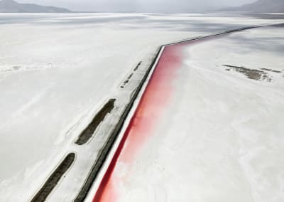 Red Canal, Great Salt Lake, Utah,2017