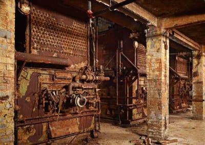 Book Cadillac Basement Boilers, 2012