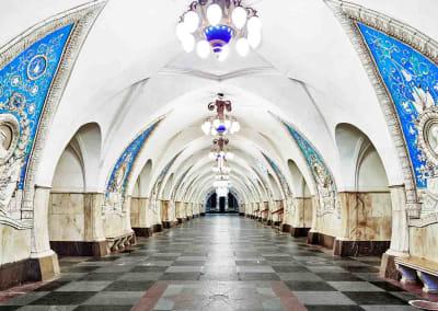 Taganskaya Metro Station, Moscow, Russia, 2015