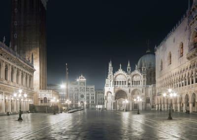 San Marco Night, Venice, Italy, 2012