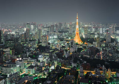 Tokyo Tower, Japan, 2010