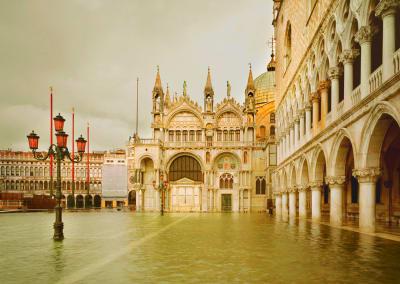Acqua Alta, Piazza San Marco, Venice, Italy, 2010