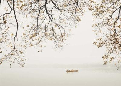 Boats, West Lake, Hangzhou, China, 2011