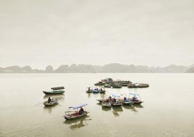 Water Taxis, Vihn Ha Long, Vietnam, 2011