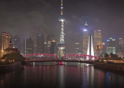 Shanghai Night II, China, 2011