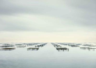 Oyster Racks, Mèze, France, 2012